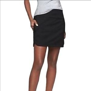 athleta globetrotter skort Black s